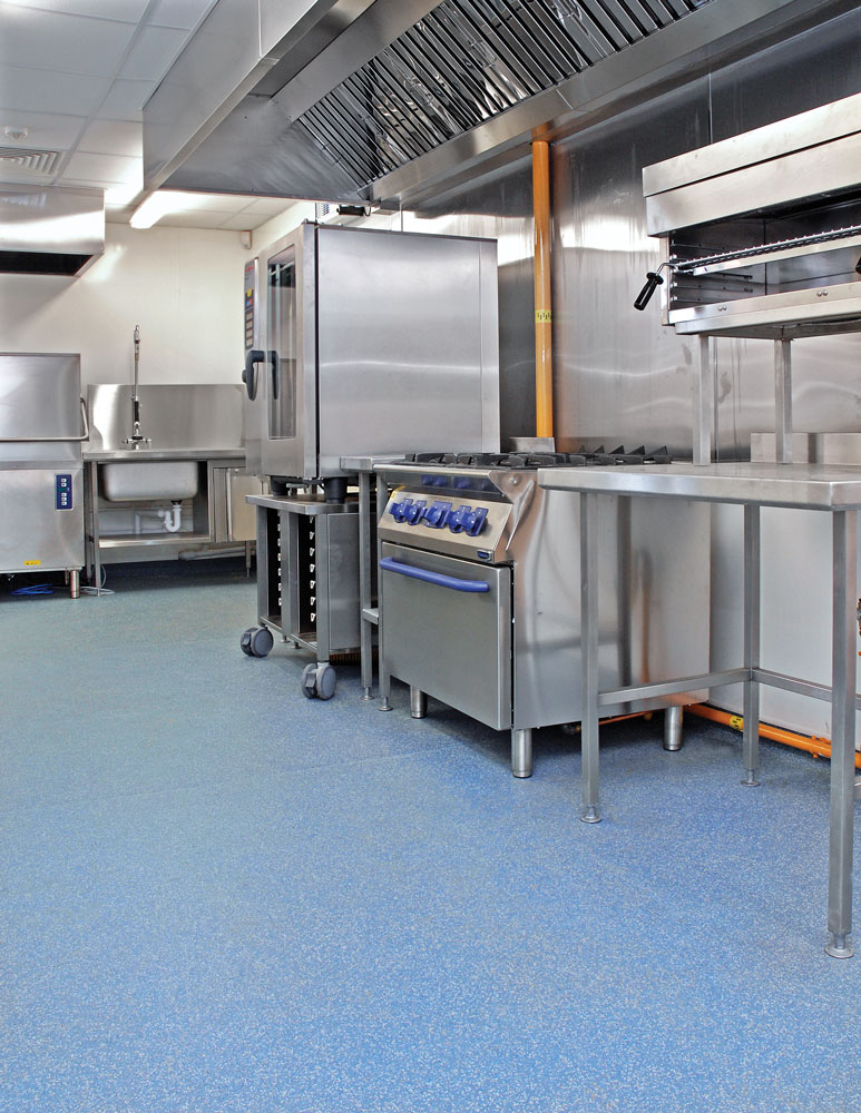 Commercial Kitchens Polyflor Canada Inc