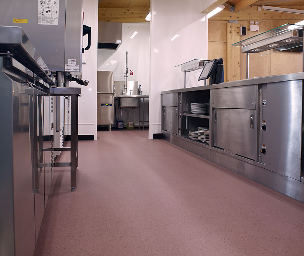 commercial kitchens commercial kitchen flooring Learn more about Polysafe Apex or contact Polyflor Canada to discuss your specific flooring needs for your commercial kitchen