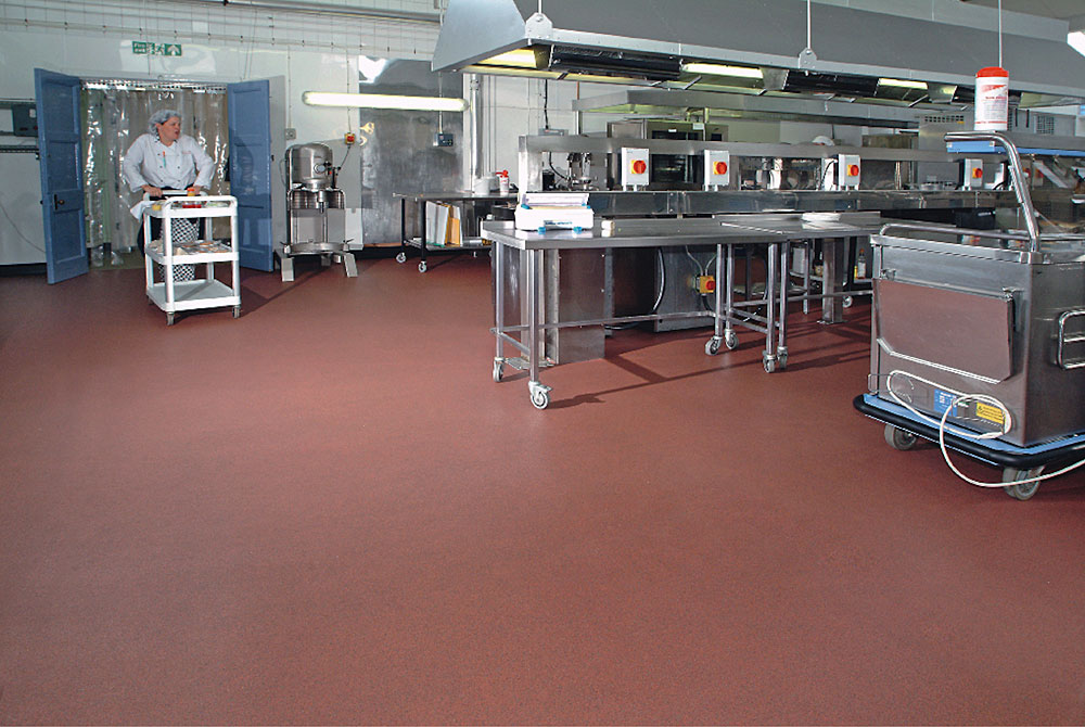 Commercial Kitchens | Polyflor Canada Inc.